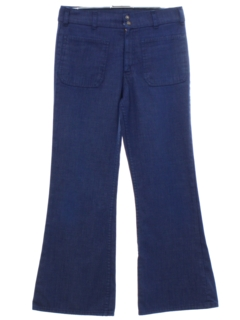 1970's Unisex Levis Bellbottom Jeans Pants