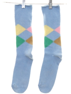 1980's Mens Accessories - Totally 80s Socks