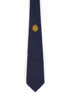 1980's Mens International Guild of Knot Tying Necktie