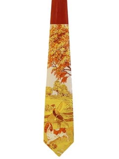 1940's Mens Hunting Necktie