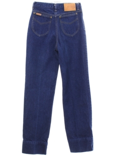 1970's Womens Britannia Highwaisted Denim Jeans Pants