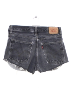 1990's Womens Levis 569s Denim Cut Off Shorts