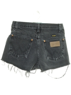 1990's Womens or Girls Grunge Denim Cut Off Jeans Shorts