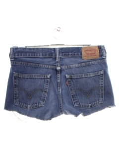 1990's Womens/Childs Grunge Denim Cut Off Shorts