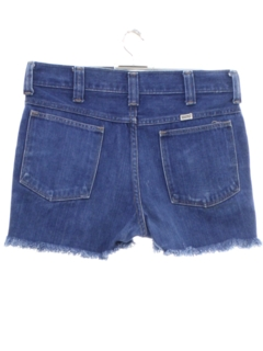 1970's Unisex Denim Shorts