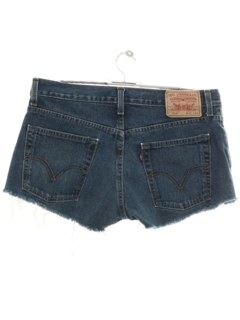 1990's Womens Levis 514s Denim Cut Off Shorts