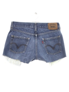 1990's Womens/Childs Levis 514s Denim Cut Off Shorts