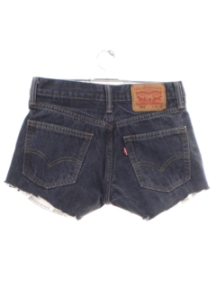 1990's Womens Levis 511s Denim Cut Off Shorts