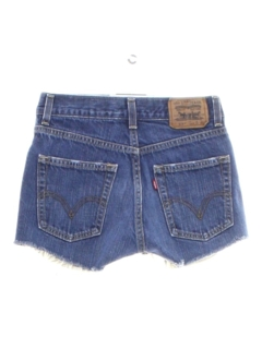 1990's Womens or Girls Levis 514s Denim Cut Off Shorts