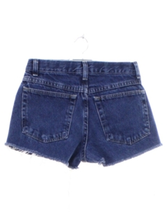 1990's Womens or Girls Denim Jeans Cut Off Shorts