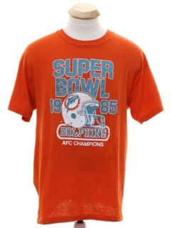 1980's Unisex Superbowl 1985 Sports T-shirt