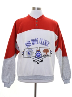 1980's Mens Bob Hope Classic GOlf Sweatshirt
