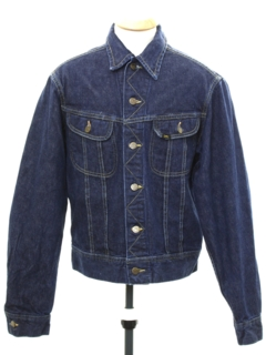 1980's Mens Lee Riders 101J Denim Jacket
