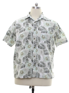 1990's Mens Island Style Sport Shirt