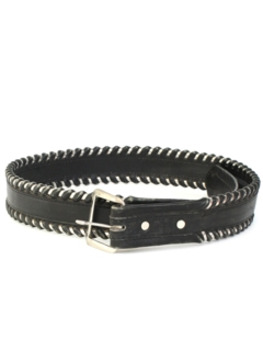 1990's Mens Accessories - Leather Motorcycle Belt