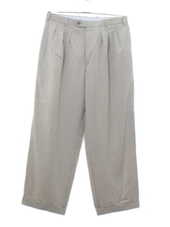 1990's Mens Wicked 90s Baggy Pleated Slacks Pants