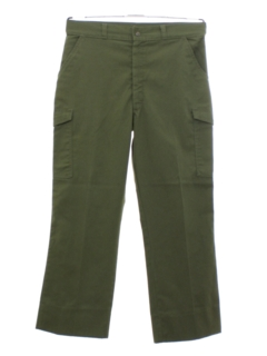 1980's Mens Boy Scout Work Pants