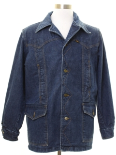 1970's Mens Lee Storm Rider Denim Jacket