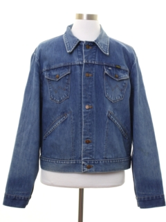 1970's Mens Wrangler 126MJ Western Denim Jacket