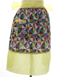 1960's Womens Accessories -Apron