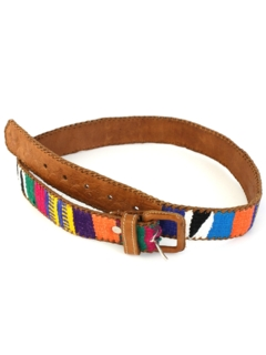 1980's Unisex Accessories - Hippie Belt