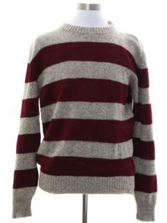 1980's Mens Wheres Waldo Style Sweater