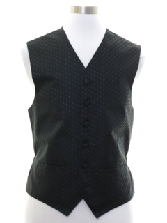 1980's Mens Totally 80s Formal Vest