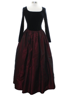 1990's Womens Jessica McClintock Prom Or Cocktail Dress