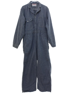 1960's Mens Work Coveralls Overalls