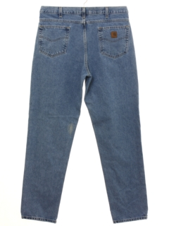 1990's Mens Slightly Tapered Leg Denim Jeans Pants