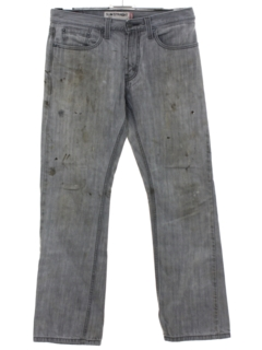 1990's Mens Grunge Levis 514 Slim Fit Straight Leg Denim Jeans Pants