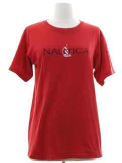 1980's Womens Nautica T-shirt