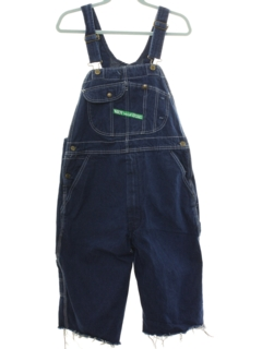 1990's Mens Denim Jorts Overalls