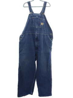 1990's Mens Denim Work Overalls