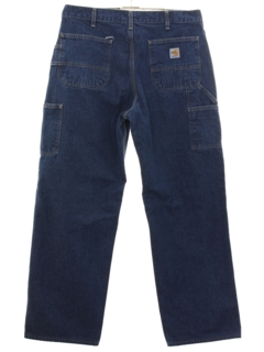 1990's Mens Cargo Denim Jeans Work Pants