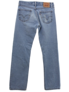 1990's Mens Levis 505 Straight Leg Denim Jeans Pants