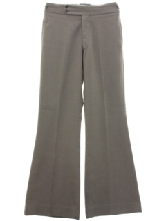 1970's Mens Hardy Amies Elephant Bells Bellbottom Pants