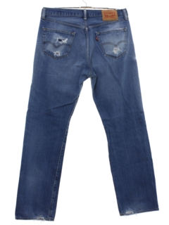 1990's Mens Grunge Levis 501 Straight Leg Denim Jeans Pants