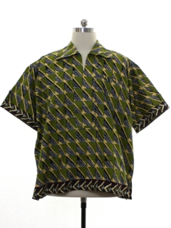 1990's Mens African Dashiki Shirt