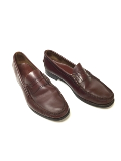 1960's Mens Accessories - Preppy Penny Loafer Shoes