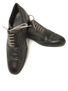 1990's Mens Accessories -Leather Oxford Wingtip Shoes