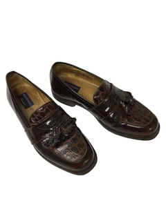 1980's Mens Accessories - Leather Loafer Shoes