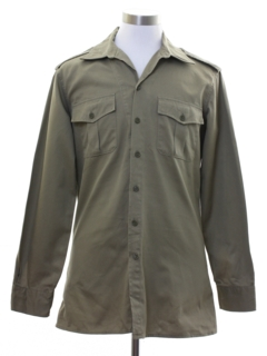 1950's Mens Uniform Shirt