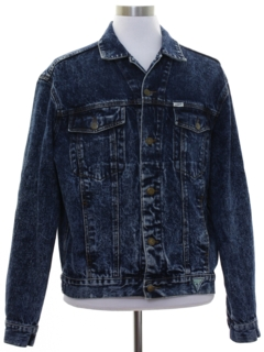 1980's Mens Totally 80s Guess Denim Jacket