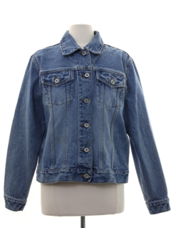 1990's Womens Stone Washed Denim Jacket