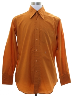 1960's Mens Oleg Cassini Mod Shirt