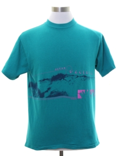 1980's Unisex Totally 80s OP Surf T-shirt