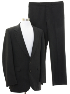 1970's Mens Pinstriped Suit
