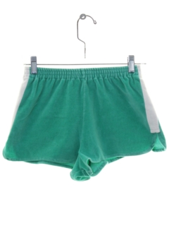 1980's Womens Totally 80s Terry Cloth Short Shorts