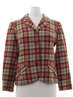 1950's Womens Pendleton Wool Jacket